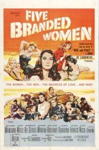 Five Branded Women poster