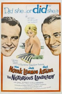 The Notorious Landlady poster