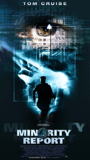 Minority Report Vhs cover