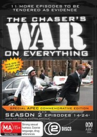 The Chaser's War on Everything poster