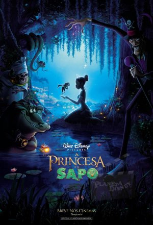 The Princess and the Frog 1089x1600