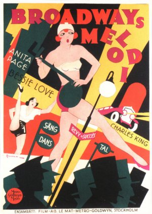 The Broadway Melody 427x599