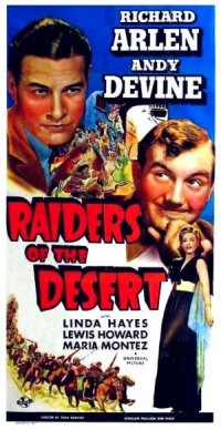 Raiders of the Desert poster
