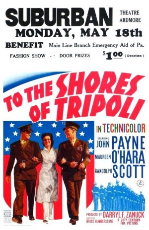 To the Shores of Tripoli Poster