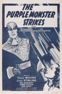 The Purple Monster Strikes poster