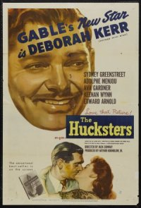 The Hucksters poster