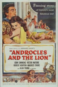 Androcles and the Lion poster