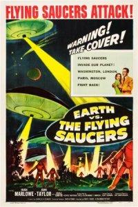 Fliegende Untertassen greifen an poster