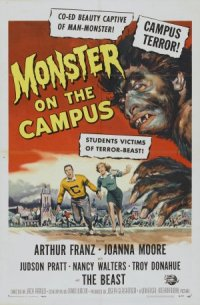 Monster on the Campus poster