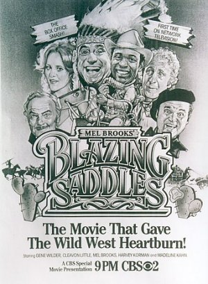 Blazing Saddles 340x464