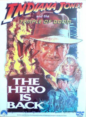 Indiana Jones and the Temple of Doom 627x850