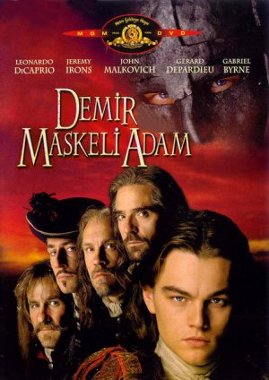 The Man In The Iron Mask Dvd cover