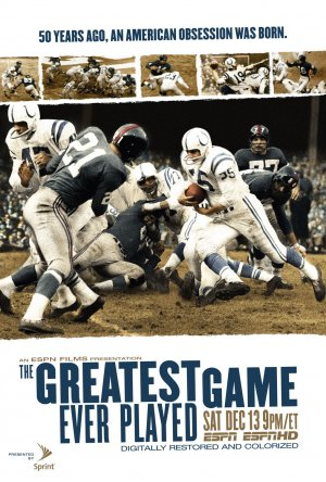 The Greatest Game Ever Played 1013x1500