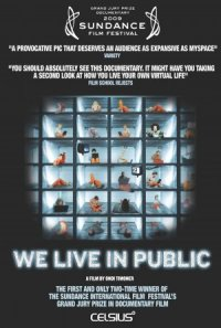 We Live in Public poster