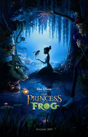 The Princess and the Frog 3203x5000