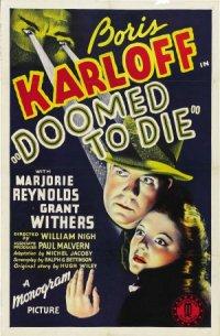 Doomed to Die poster