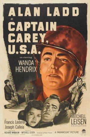 Captain Carey, U.S.A. Poster