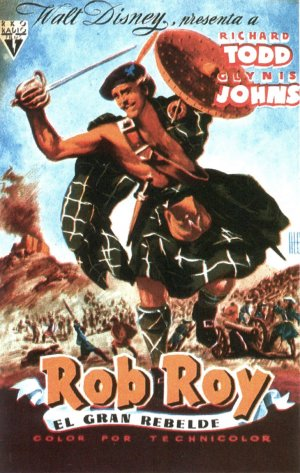 Rob Roy, the Highland Rogue Poster