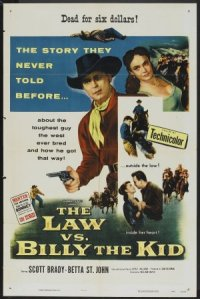 The Law vs. Billy the Kid poster