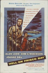 Hell on Frisco Bay poster