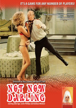Not Now Darling Dvd cover
