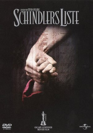 Schindler's List Dvd cover