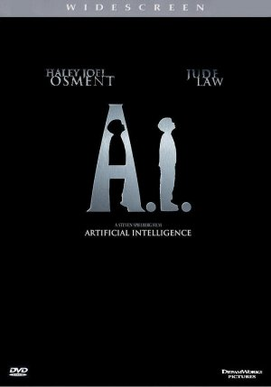 Artificial Intelligence: AI Dvd cover