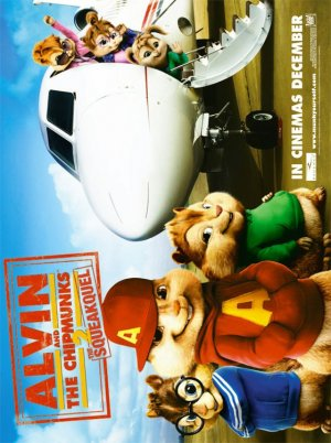 Alvin and the Chipmunks: The Squeakquel 560x750