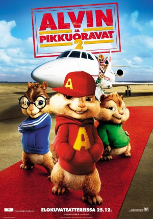 Alvin and the Chipmunks: The Squeakquel 2756x3937