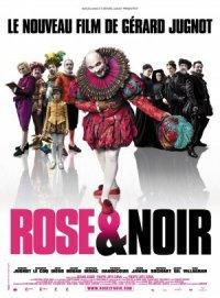Rosa y negro poster