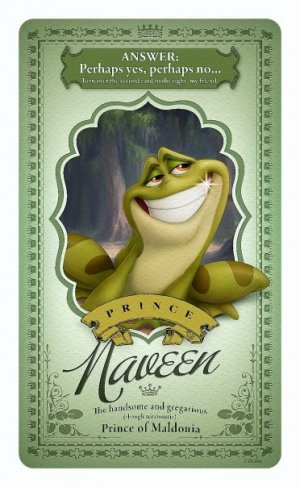 The Princess and the Frog 372x604
