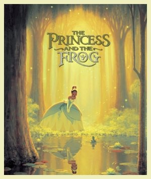 The Princess and the Frog 375x445