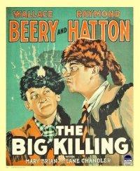 The Big Killing poster