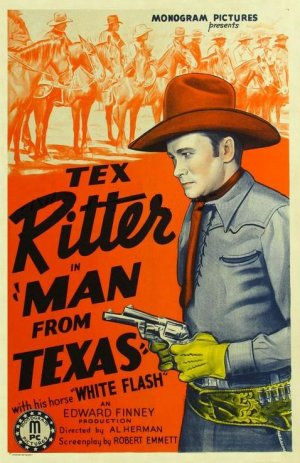 The Man from Texas Poster