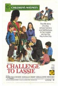 Challenge to Lassie poster