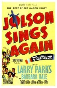 Jolson Sings Again poster