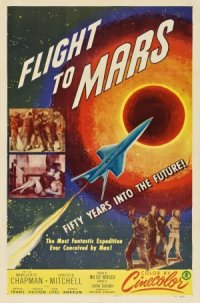 Flight to Mars poster