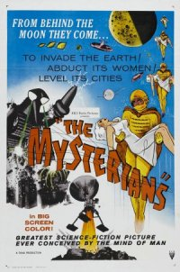 The Mysterians poster