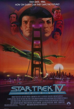 Star Trek: The Voyage Home Poster