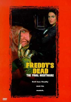 Freddy's Dead: The Final Nightmare Dvd cover