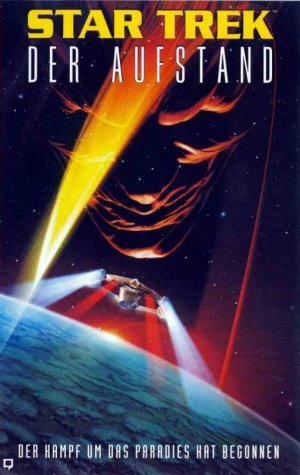 Star Trek: Insurrection Vhs cover