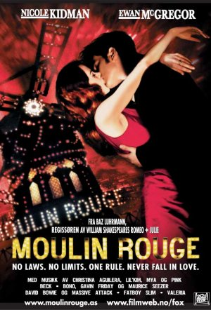 Moulin Rouge! 611x900