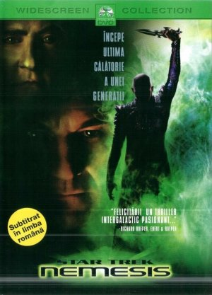 Star Trek: Nemesis Cover