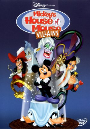 Mickey's House of Villains Dvd cover