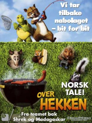 Over the Hedge 418x557