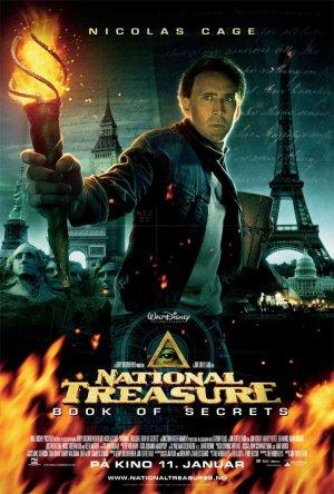 National Treasure: Book of Secrets 608x900