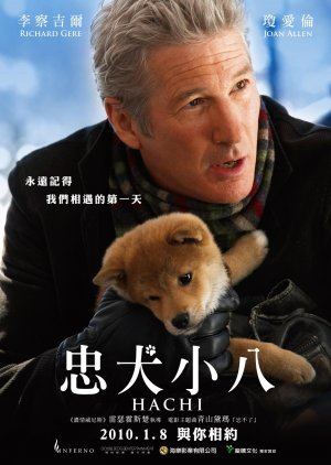 Hachi: A Dog's Tale 1600x2250