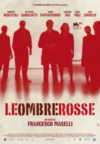 Le ombre rosse poster