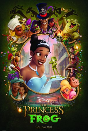 The Princess and the Frog 3369x5000