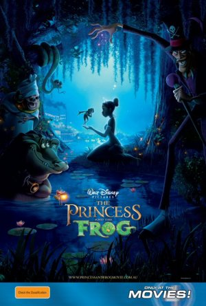 The Princess and the Frog 539x800